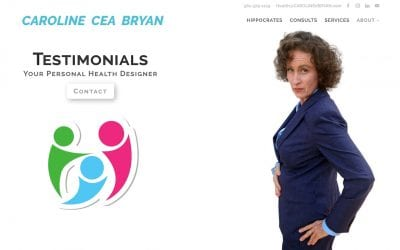 TESTIMONIALS & REVIEWS OF CAROLINE CEA BRYAN HIPPOCRATES WELLNESS EXPERT