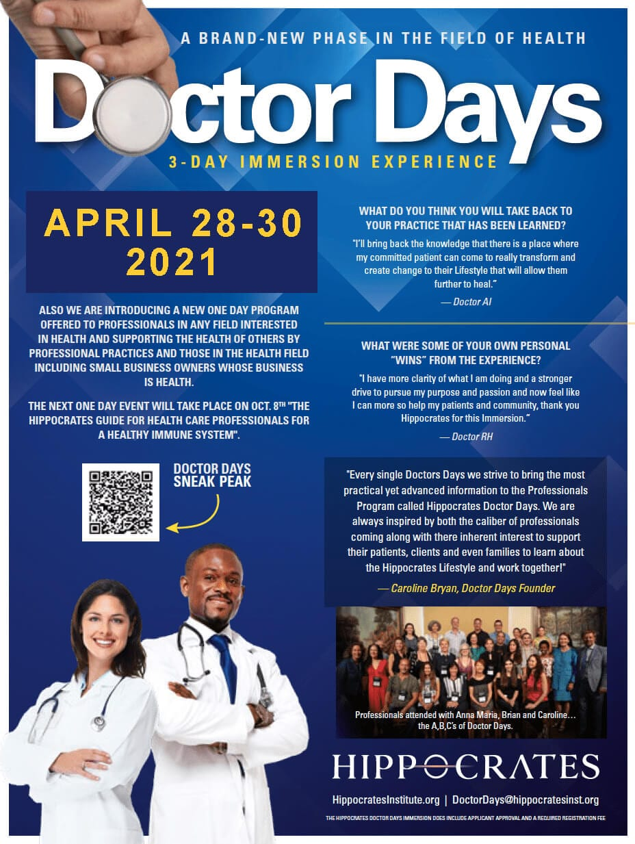 DOCTOR DAYS
